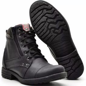 Sapato Botina Casual Social Masculino Ziper Bota Franca Dhl