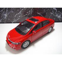 Honda Civic Lxl 2009/2011 Vermelho Escala 1:18 Rarissimo Top