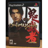 Onimusha Warlords Completo Ps2 Con Manual