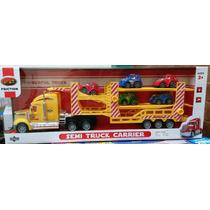 Camión De Carga Con 5 Vehículos Para Niños