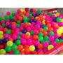 200 Pelotas Plastico Suave Para Piscina Inflable
