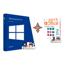 Liceça / Serial Windows 8.1 Pro + Chave Office 2013 Pro Plus
