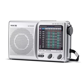 Rádio Portátil 10 Faixas Nks - Ac117 3v