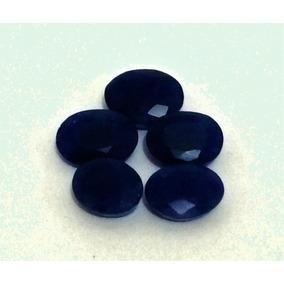 32,3cts Safira Natural Azul, Lote 5 Gemas
