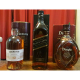 Combo Whisky Escoces- Aberlour - Dimple- Johnnie Walker