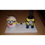 Decoración Torta De Casamiento - Minions - Solo 1 Uso