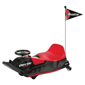 Razor - Cart Eléctrico Crazy Cart Shift - Negro Y Rojo