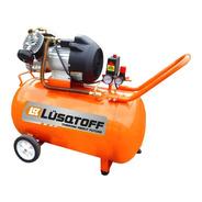 Compresor De Aire 4hp 100 Lts Bicilindrico Lusqtoff Mono