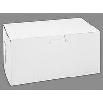 250 Cajas Blancas Lisas Para 2 Cupcake O Pastelillos
