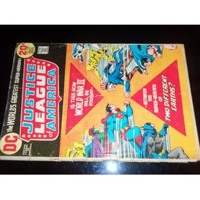 Justice League Of America N.108 Dc Comics World War 3 1970