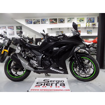 Kawasaki Ninja300 Negra 2014