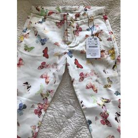Pantalón Marca Zara Talla 11/12 Nuevo!!!