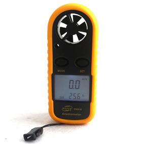 Anemometro Digital Medidor Velocidad De Viento Temperatura