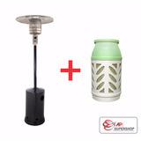 Estufa Calefactor Hongo A Gas + Garrafa Megal Light