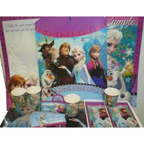 Set De Cotillon Tematico P/10 Chicos De Frozen/violetta/zou