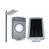 Lampara Solar Inteligente Para Calle All In One