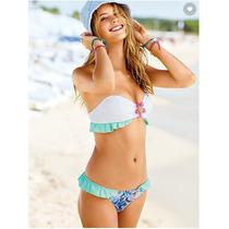Victorias Secret Bandeadu Crystal Bikini, Tallas
