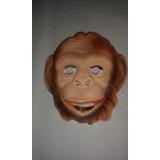 Mascara De Chimpance Mono Para Disfraces