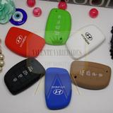 Frete R$8 Capa Silicone Chave Do Hyundai Creta Ix35 4 Botões