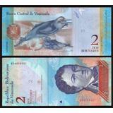Venezuela 2 Bolívares 2013 P. 88 Fe Cédula - Tchequito