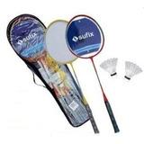Set Badminton 2 Raquetas + 2 Plumillas - Nuevo Y Sellado