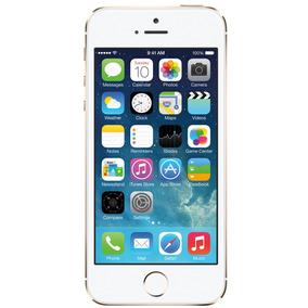 Iphone 5s 16gb Dourado Bom Seminovo C/ Garantia E Nf