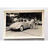 Antigua Fotografia Automovil Vw Volkswagen Escarabajo 1967