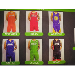 Uniforme Baloncesto Nba Para Adulto