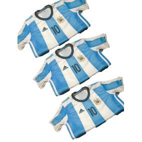 Camiseta Remer Orig Niño Argentina Afa Messi Rusia 2018