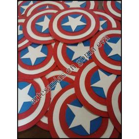 Escudos - Capitan America- Super Heroes-