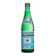 Agua Botella Vidrio San Pellegrino Gasificada X505 Italia