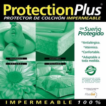 Protector Impermable P/ Colchón 160x200 Tela Toalla La Plata