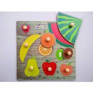 Encastre Multifruta De Madera