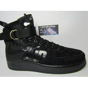 05b6e83bf3 Nike Air Force One Negros Casuales Hombre - Tenis en Mercado Libre ...