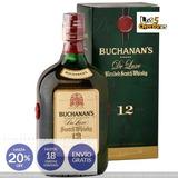 Whisky Buchanans 12 Años Botella X 750ml 20% Off