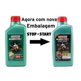 Oleo Castrol Magnatec 5w40 Sn 100% Sintético Vw