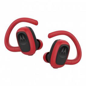 Audifonos Inalambricos Motorola Bluetooth Moto Stream Rojo