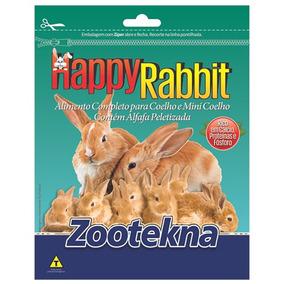 Happy Rabit - Ração Para Coelho - 10kg