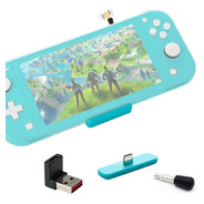 Route Air Adaptador Bluetooth Audio Nintendo Switch Mic Ps4