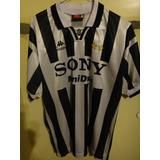 Camiseta Fútbol Juventus Italia Kappa 1996 1997 #9 Boksic L