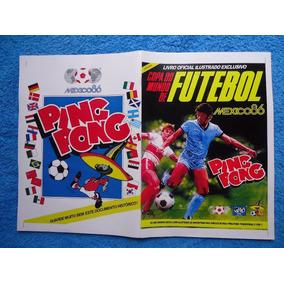 Álbum De Figurinhas Digitalizado Copa Do Mundo 86 Ping Pong