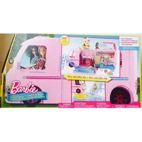 Camper De Barbie Con Alberca Mattel
