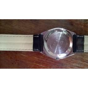 Relógio Automático Citizen, Unissex Pulseira De Couro.