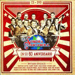 Cd + Dvd Sonora Santanera En Su 60 Aniversario - Sonora Sant