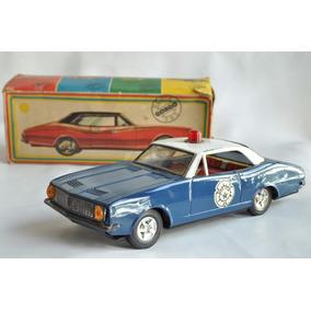 Chevrolet Camaro Policia Gorgo Mib Juguete Antiguo Patrulla