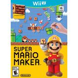 Super Mario Maker Nuevo Nintendo Wii U Dakmor Canje/vent