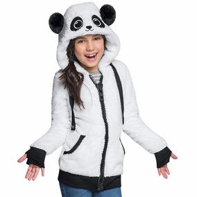 Sudadera Oso Panda. Tela Polar. Niña & Adolescente +obsequio