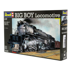 Kit Para Montagem Locomotiva Big Boy Revell 1:87 Rev02165