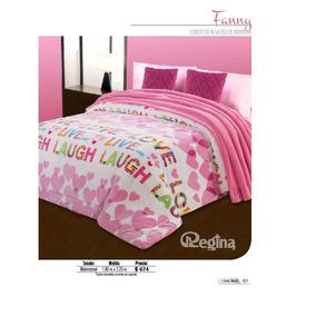 Cobertor Matrimonial Regina Borrega Modelo Fanny