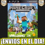 Minecraft Ps3 Juego Playstation 3 Stock